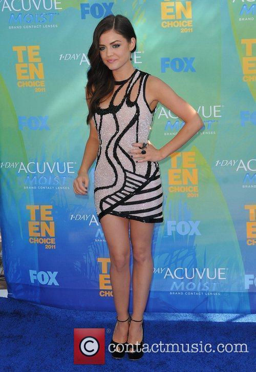 Lucy Hale 2011 Teen Choice Awards held at...