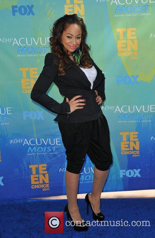Raven-Symone 2011 Teen Choice Awards held at Gibson...