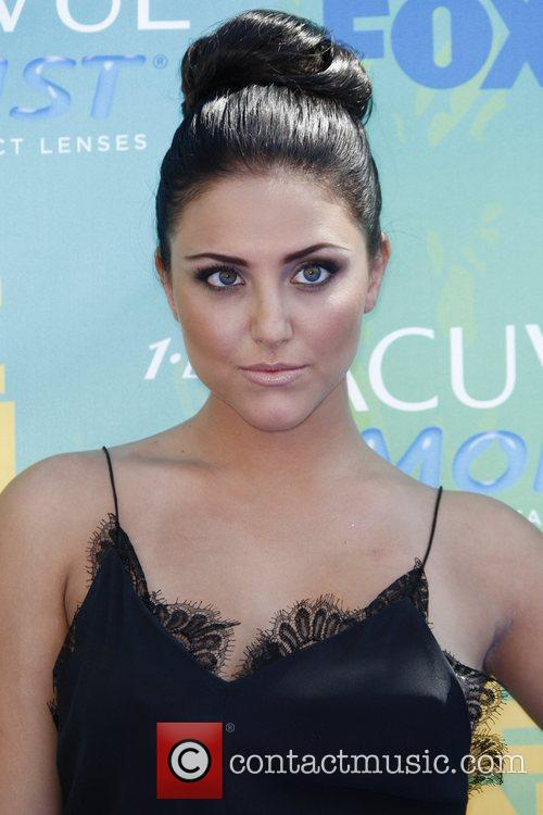 Cassie Scerbo 2011 Teen Choice Awards held at