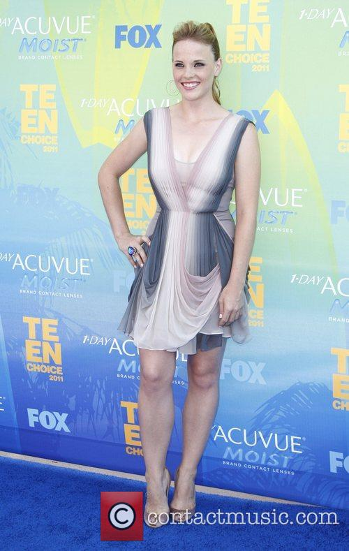 Katie Leclerc 2011 Teen Choice Awards held at...