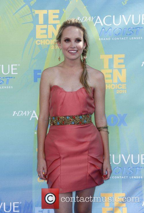 Meaghan Martin 2011 Teen Choice Awards held at...