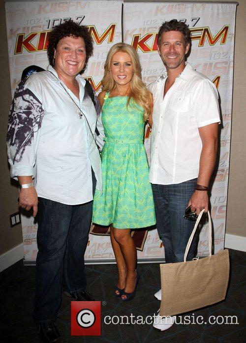 Dot Jones ,Gretchen Rossi with boyfriend Slade Smiley...