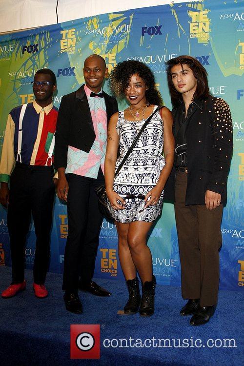 2011 Teen Choice Awards held at Gibson Amphitheatre...