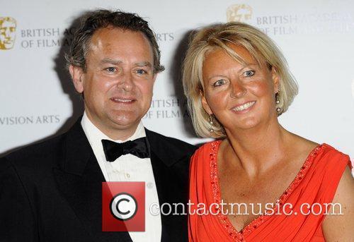 Hugh Bonneville & Wife The British Academy Television...