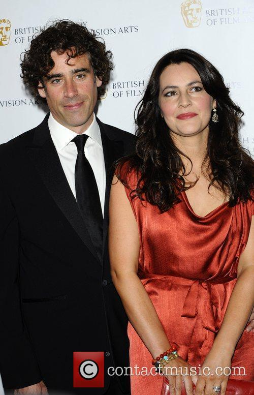 Stephen Magnan & Wife The British Academy Television...