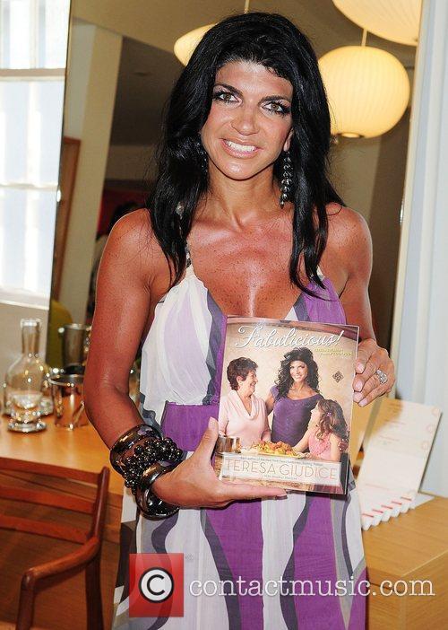 Teresa Giudice  at the book signing for...