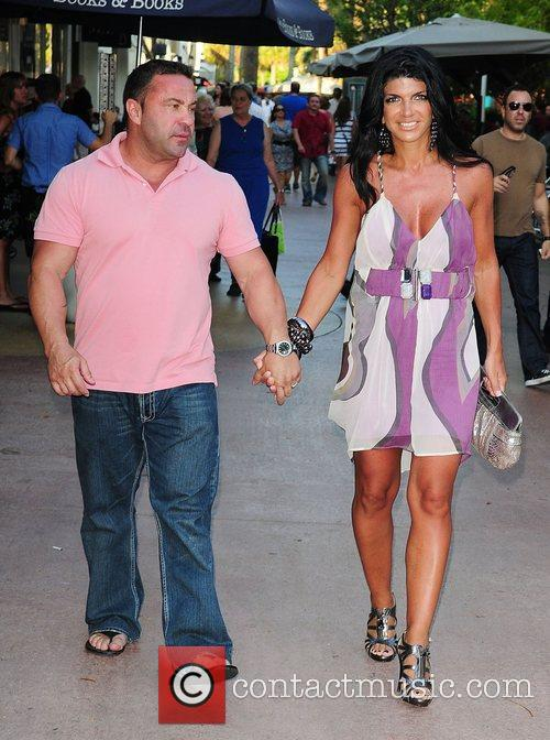 Teresa Giudice and her and husband Joe Giudice...