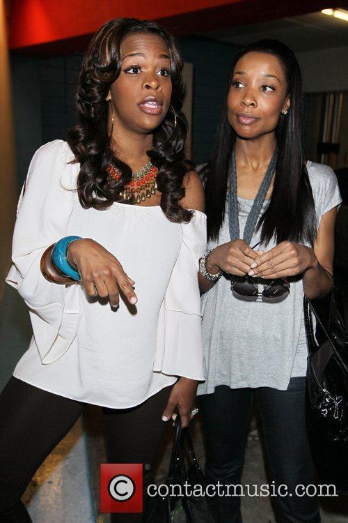 Kita Williams and Monique Jackson  Terrell Owens...