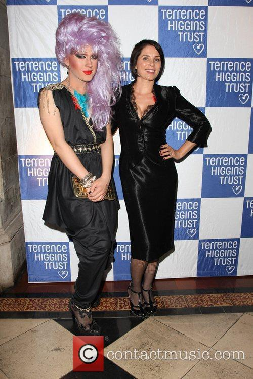 Jodie Harsh and Sadie Frost 2011 Terrence Higgins...