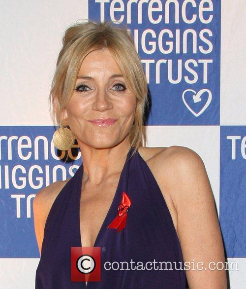Michelle Collins 2011 Terrence Higgins Trust Gala dinner...