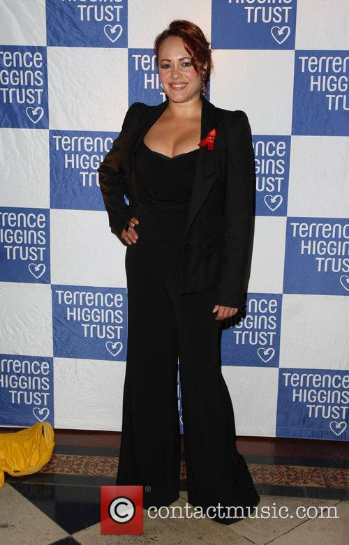 Sarah Cawood 2011 Terrence Higgins Trust Gala dinner...