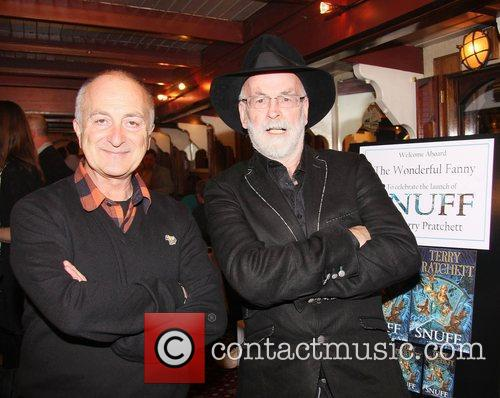 Tony Robinson and Terry Pratchett