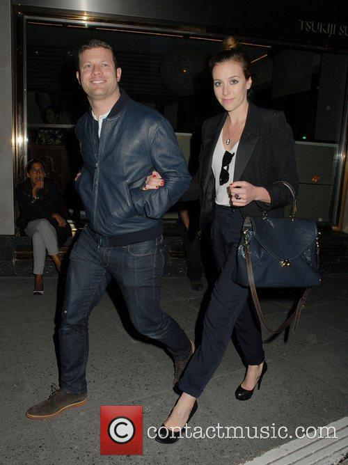 Dermot O'Leary and Jane O'Leary at the Terry...