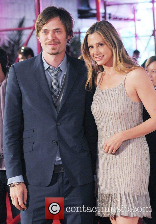 Christopher Backus and Mira Sorvino 2011 Tribeca Film...