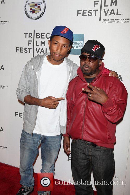 Pharrel Williams, Phife Dawg, Malik Taylor,  2011...