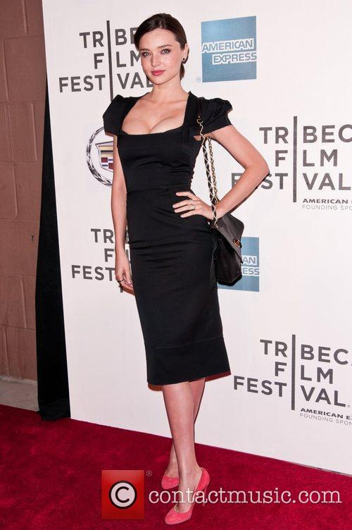 Miranda Kerr 2011 Tribeca Film Festival premiere of...