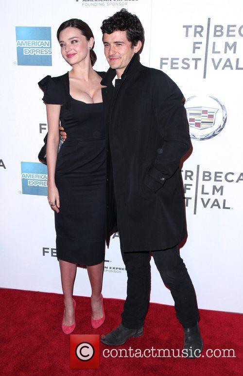 Orlando Bloom and Miranda Kerr 2011 Tribeca Film...
