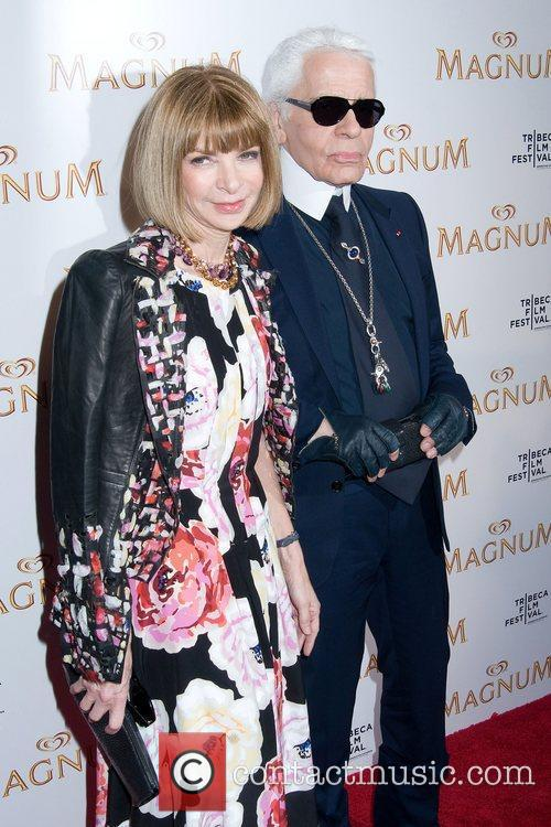 Anna Wintour and Karl Lagerfeld 1