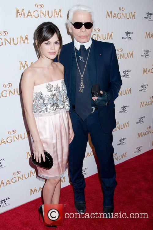 Rachel Bilson and Karl Lagerfeld 6