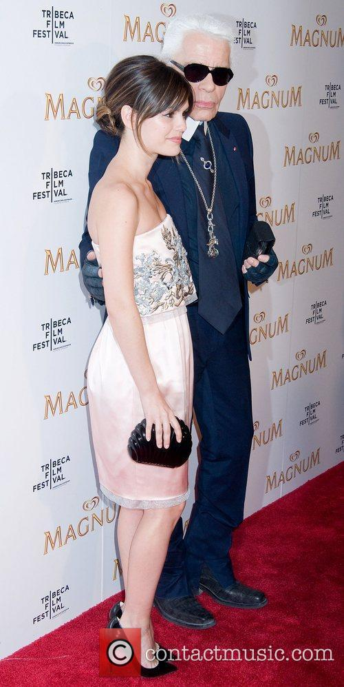 Rachel Bilson and Karl Lagerfeld 7