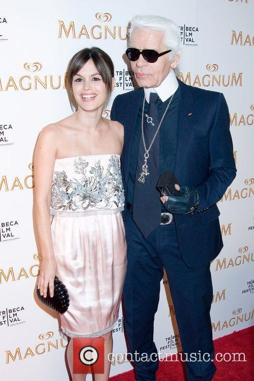 Rachel Bilson and Karl Lagerfeld 5