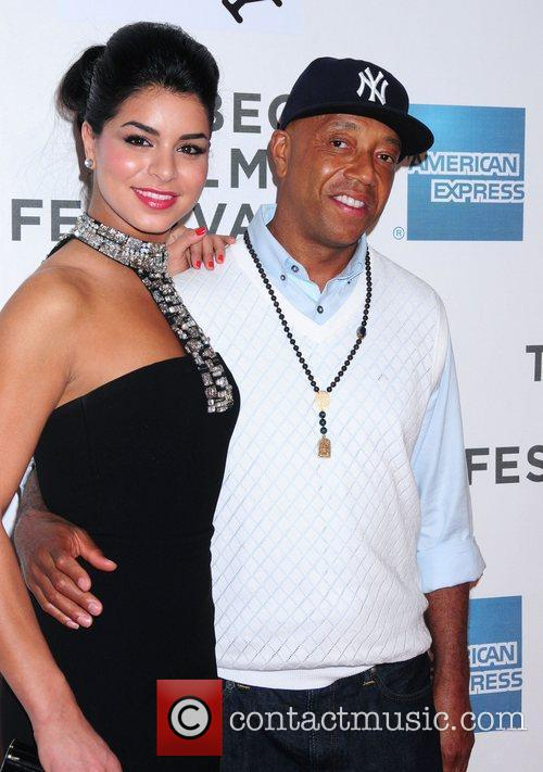 Rima Fakih and Russell Simmons 4