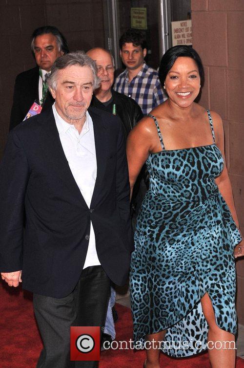 Robert DeNiro and Grace Hightower 2011 Tribeca Film...