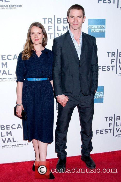 Dara Coleman and guest 2011 Tribeca Film Festival...