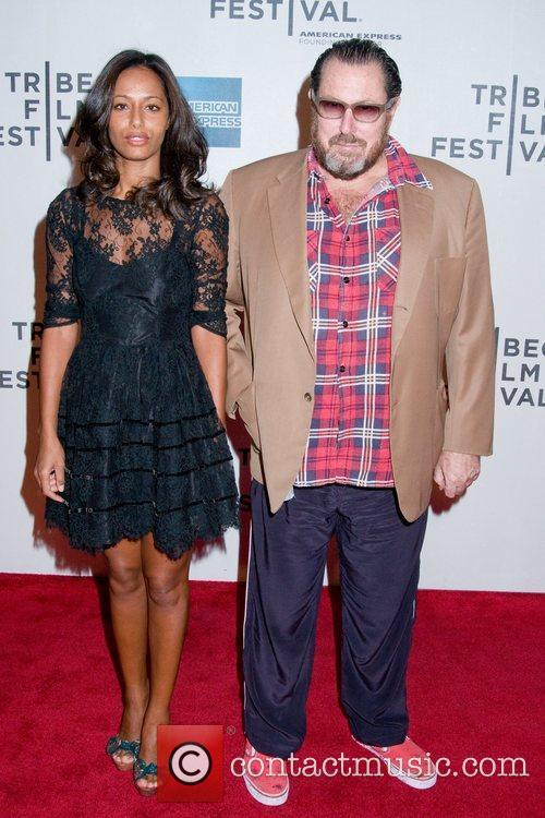 Rula Jebreal and Julian Schnabel 2011 Tribeca Film...