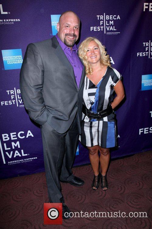 Hugo Girard and Nadine Tremblay 2011 Tribeca Film...
