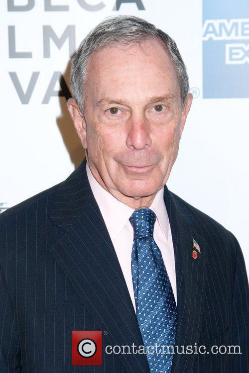 Mayor Michael Bloomberg and Zoe Kazan 2