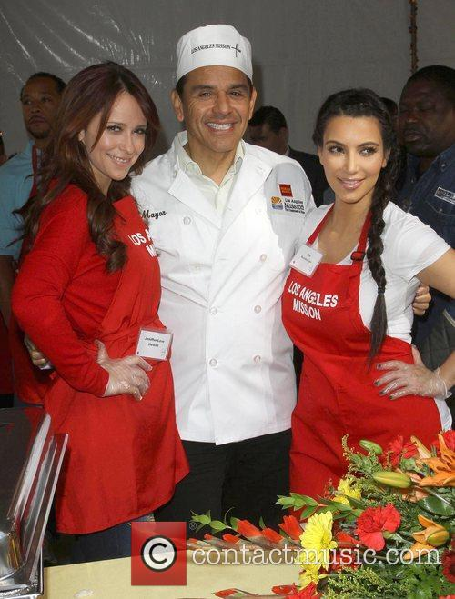 Jennifer Love Hewitt, Antonio Villaraigosa and Kim Kardashian 2