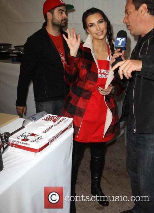 kim kardashian 75th anniversary of the los 5759579