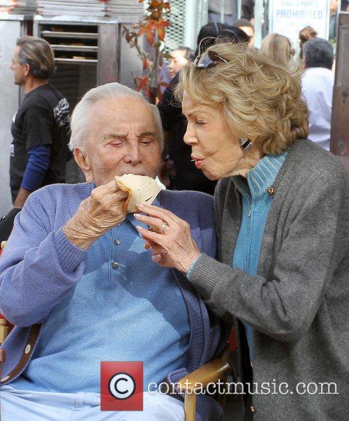 kirk douglas and anne douglas 75th anniversary 5759608