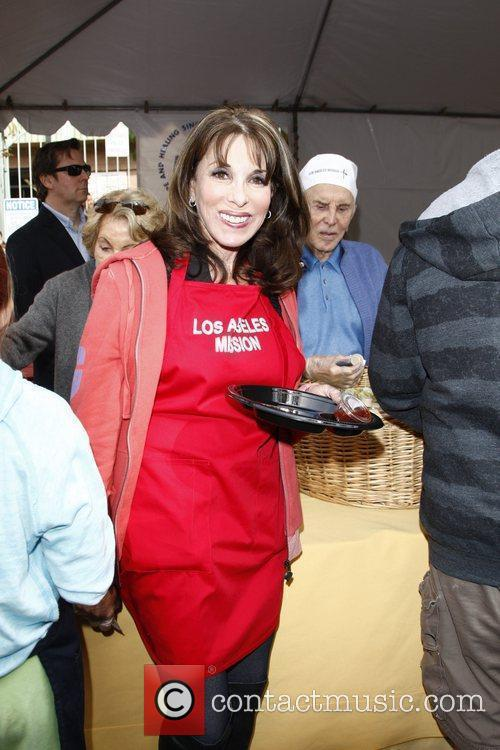 Kate Linder 75th anniversary of the Los Angeles...