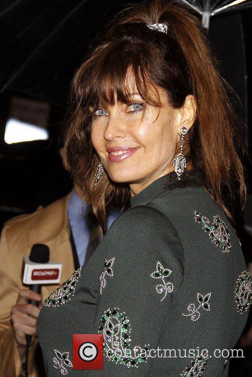 Carol Alt  Opening night of the Broadway...