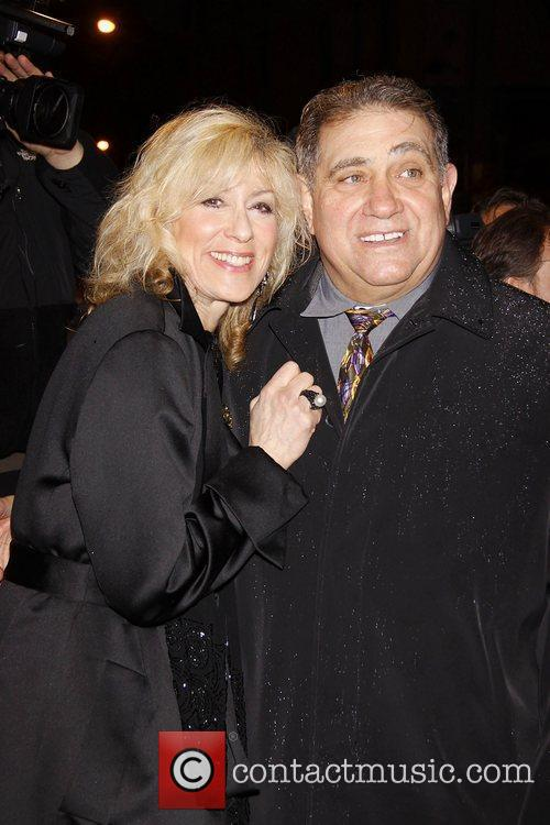 Judith Light and Dan Lauria  Opening night...