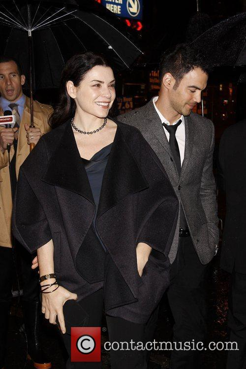 Julianna Margulies and Keith Lieberthal  Opening night...