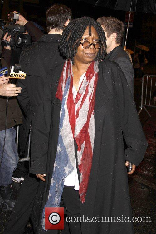 Whoopi Goldberg  Opening night of the Broadway...