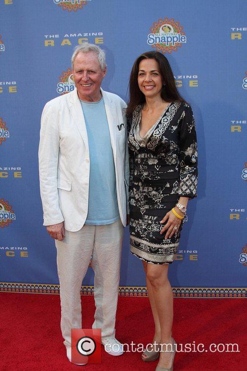 Bertram Van Munster and Elisa Doganieri arrive at...