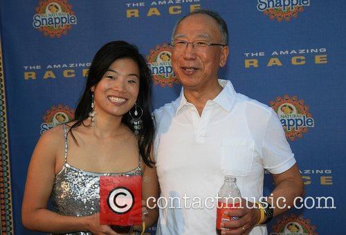 Christina Hsu and Ron Hsu arrive at The...