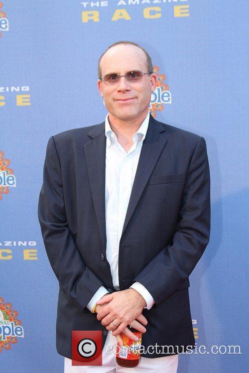 Jonathan Litman arrives at The Amazing Race: 10...