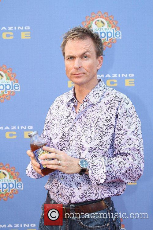 Phil Keoghan arrives at The Amazing Race: 10...