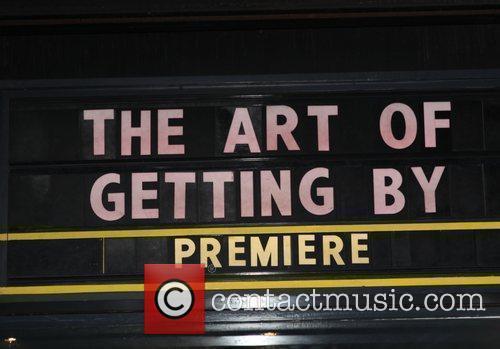 Sign,  at the Cinema Society screening of...