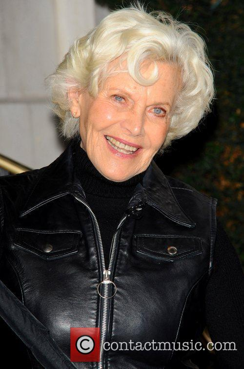 Honor Blackman  attends the launch photocall for...