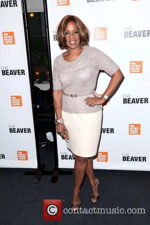 Gayle King at the screening of 'The Beaver'...