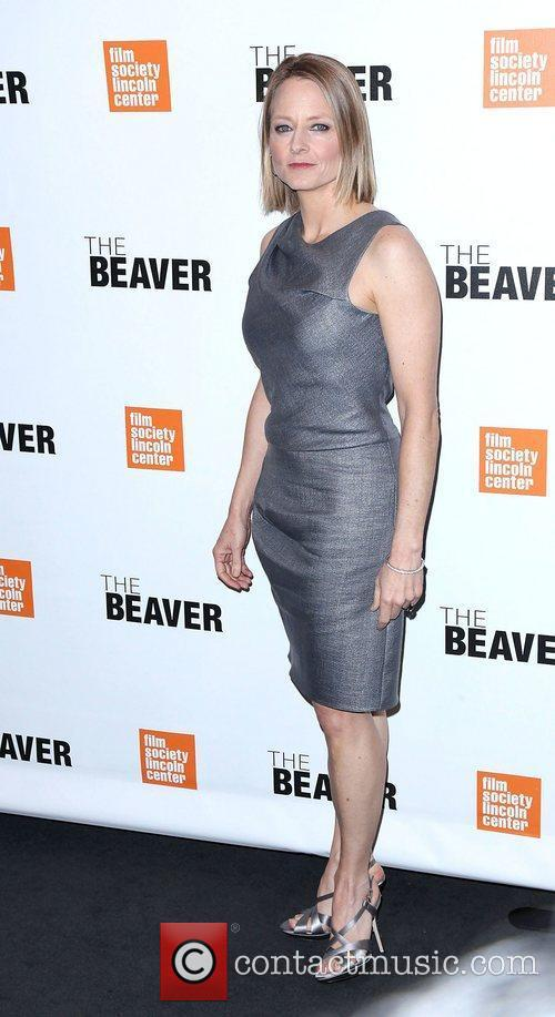 Jodie Foster at the screening of 'The Beaver'...