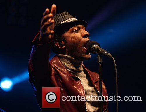 Aloe Blacc performing on the Revellers Stage The...