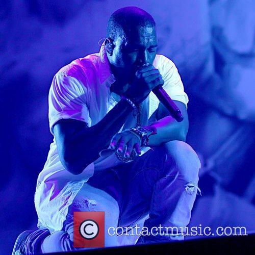 Kanye West headlining the Deer Park Stage The...