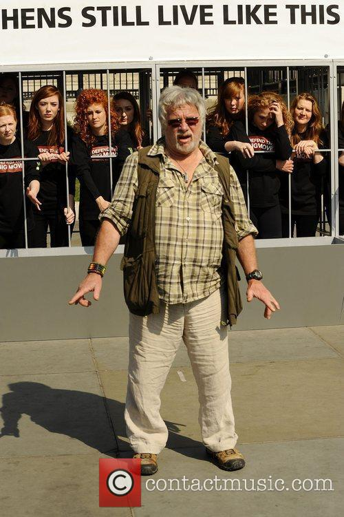 Bill Oddie The Big Move - Photocall to...